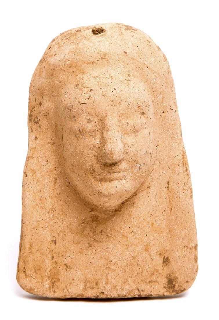 Ancient Greek Terracotta Female Bust c.5th century BC