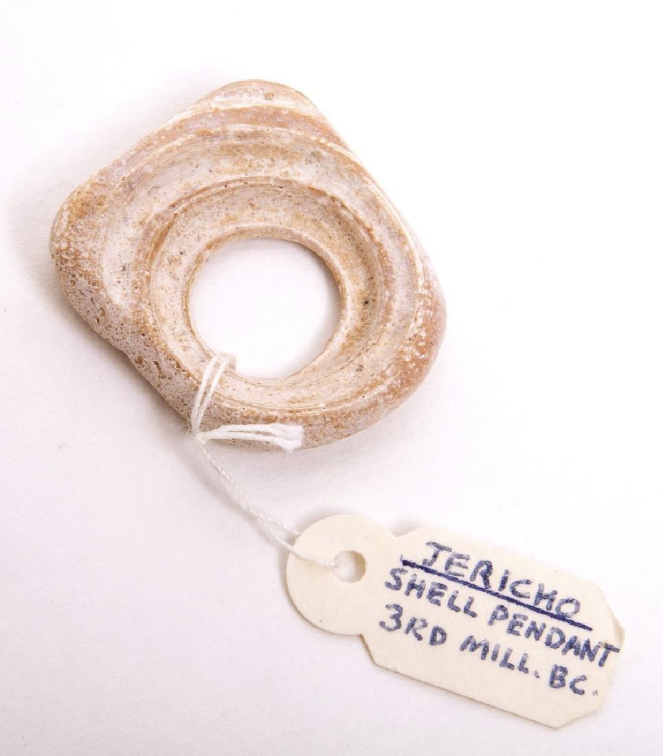 Ancient Jericho Shell Pendant c.3000 BC