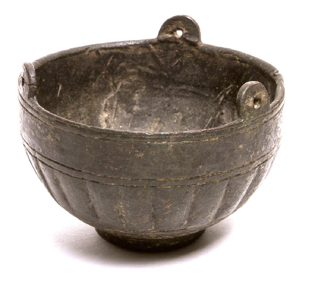 Ancient Roman Bronze Incense Burner c.1st-2nd cent AD