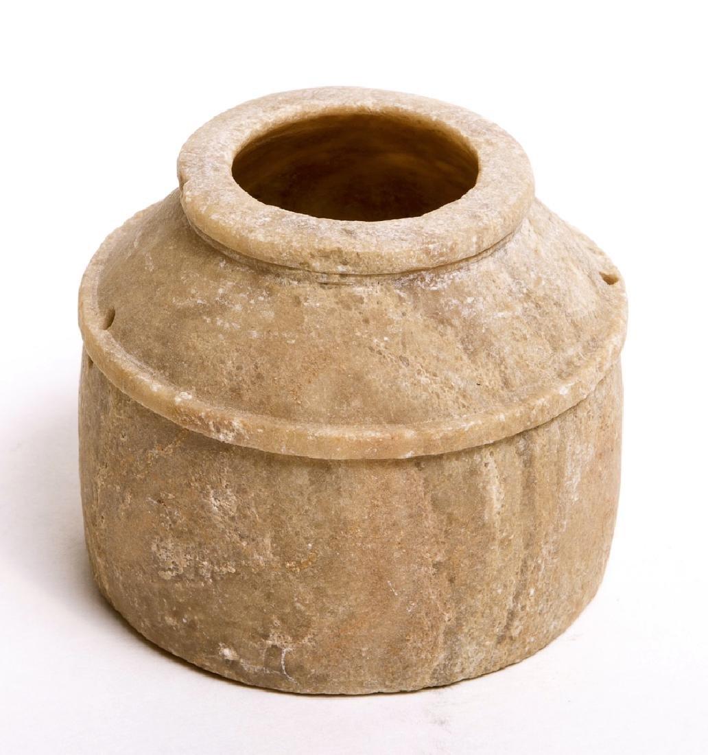 Ancient Near Eastern Stone Jar c.6th century BC.