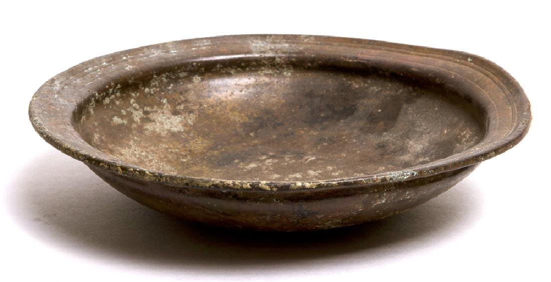 Ancient Near Eastern Bronze Phiale Bowl c.6th cent BC.