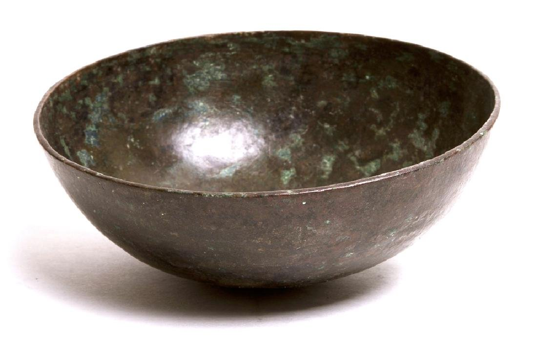 Ancient Near Eastern Bronze Bowl c.6th cent BC.