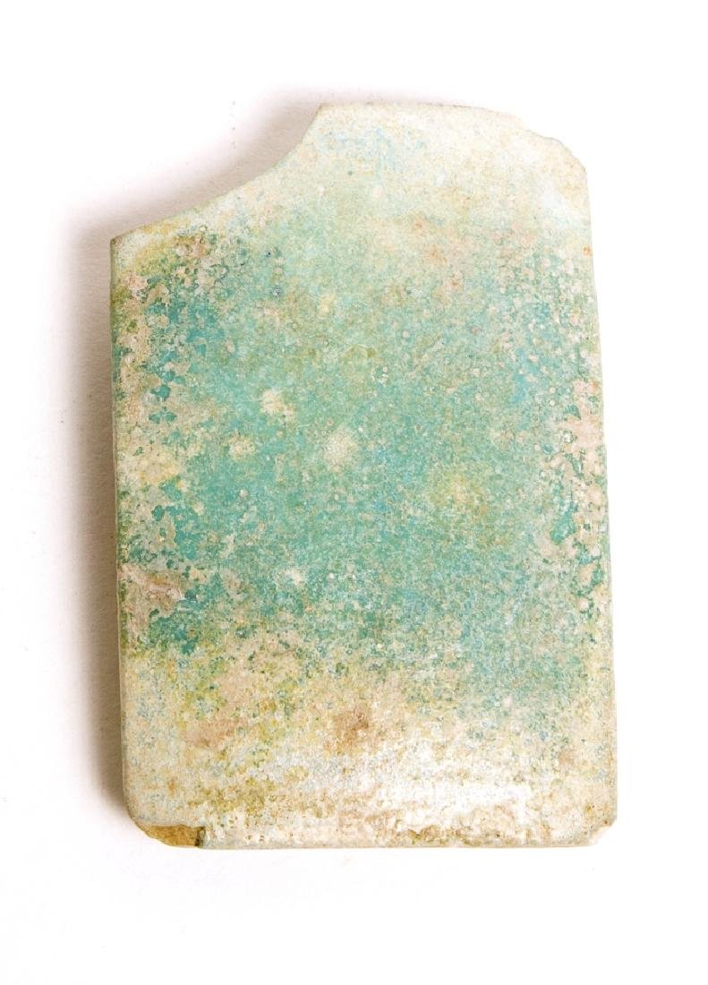 Ancient Egyptian Old Kingdom Faience Tile 2686-2181, BC