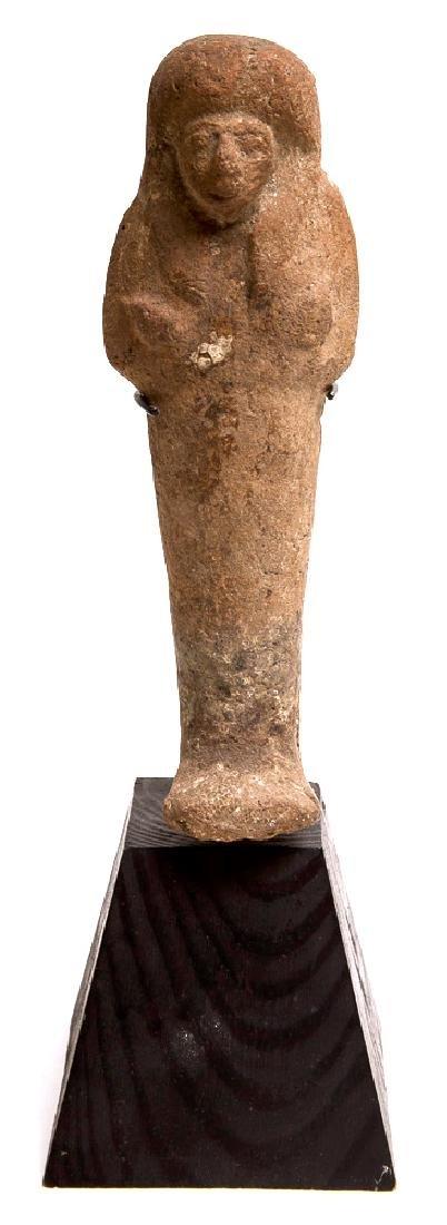Ancient Egyptian Terracotta Ushabti Figure c.700 BC.