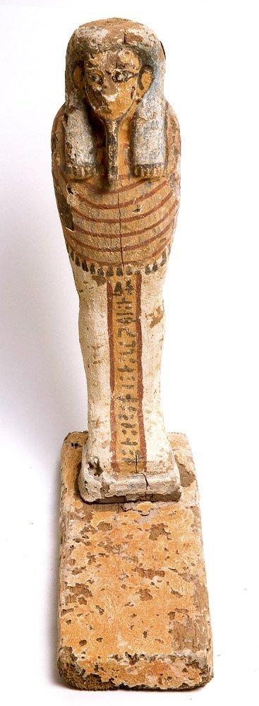 Ancient Egyptian Wood Ptah Soker Osiris c.635 BC.