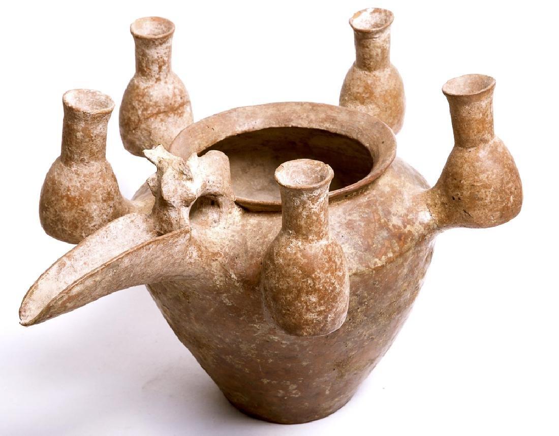 A Massive Amlash Pottery Vessel c.1000 BC.