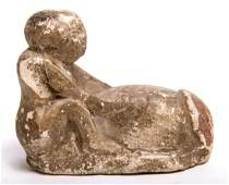 Ancient Egyptian Limestone Phallus Figure c.300 BC