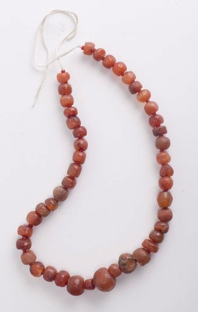 Ancient Roman Agate Beads Necklace c.2nd century AD.
