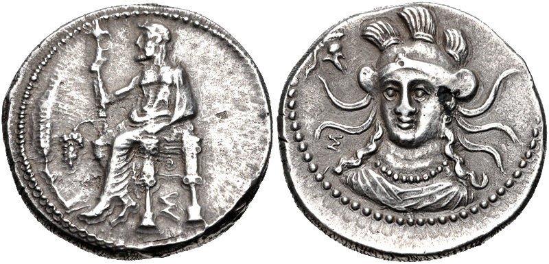 Ancient Greek CILICIA, Soloi. Balakros. Satrap.Coin