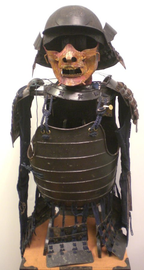 A Set Japanese samurai armor 17th century