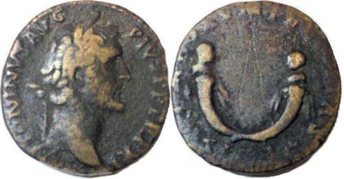 Ancient Roman ANTONINUS PIUS.138-161 AD.Sestertius Coin