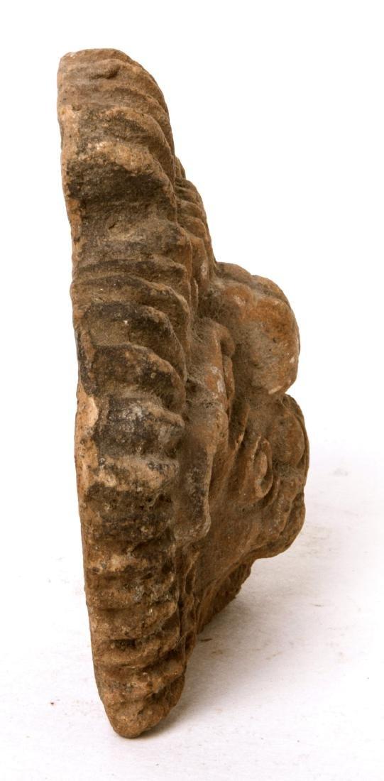 Ancient Pre Columbian Mexico Toltec Terracotta figure - 3