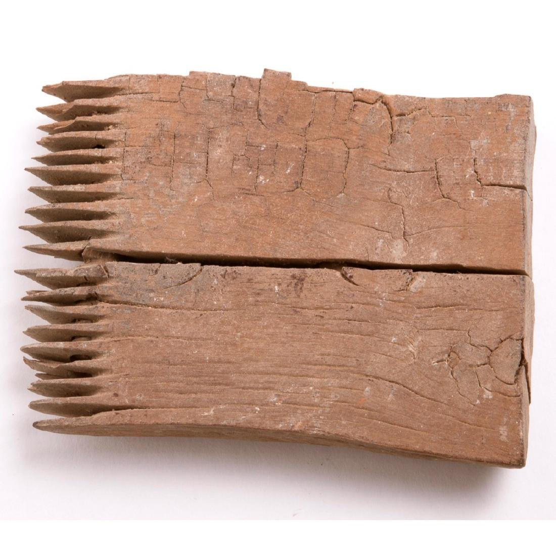 Ancient COPTIC Egypt WOODEN COMB c.5th Century AD.