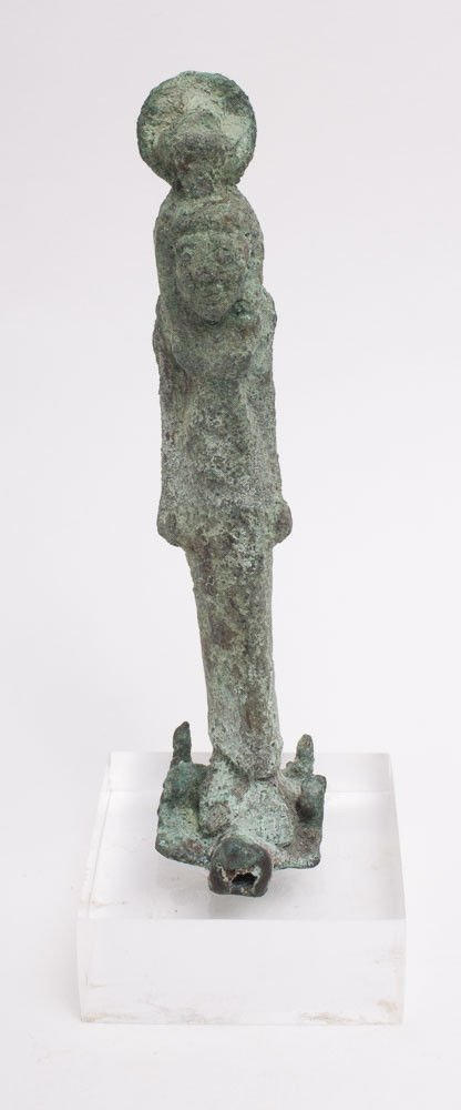 Ancient EGYPTIAN Standing Figure of Isis Late period c.