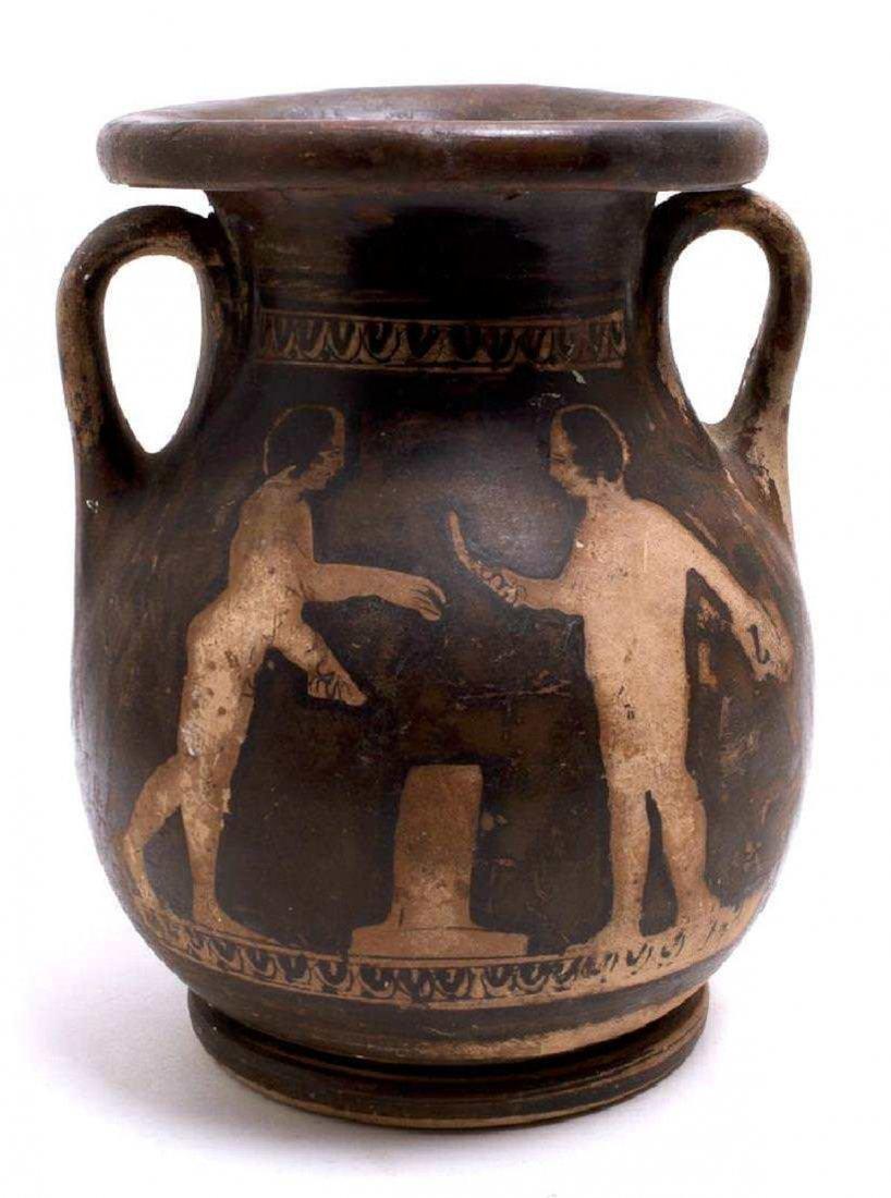 Ancient Apulian Red-Figure Pelike Magna Graecia Ca. 350