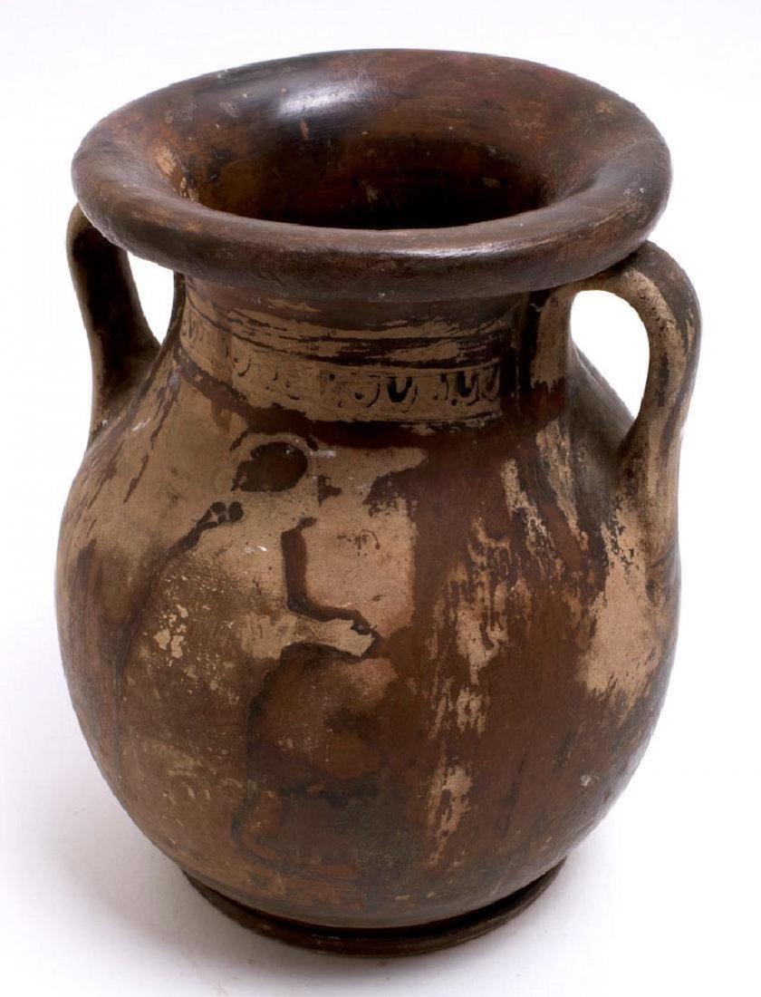 Ancient Apulian Red-Figure Pelike Magna Graecia Ca. 350 - 2