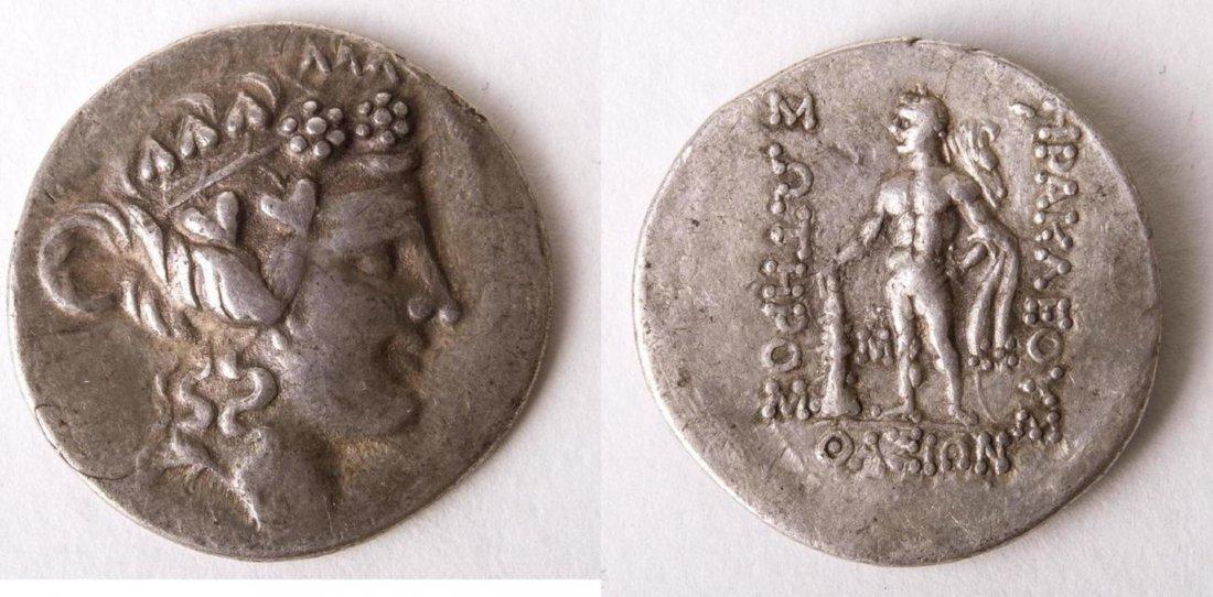 Ancient ISLANDS off THRACE, Thasos.Circa 168/7-148.Coin