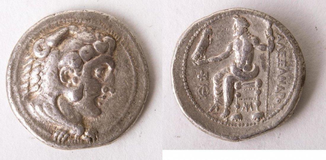 Ancient KINGS of MACEDON Alexander III. 336-323 BC Coin
