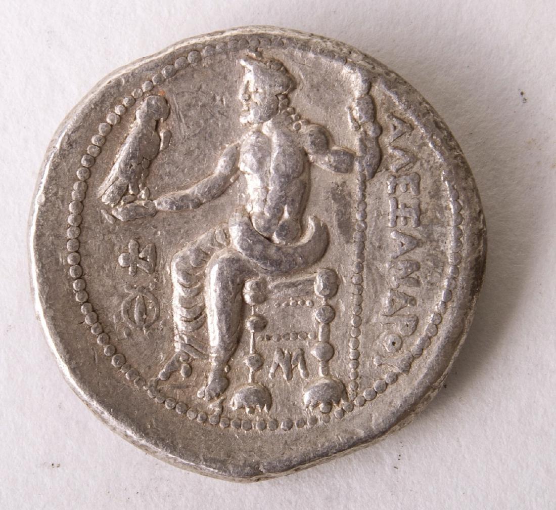 Ancient KINGS of MACEDON Alexander III. 336-323 BC Coin - 2