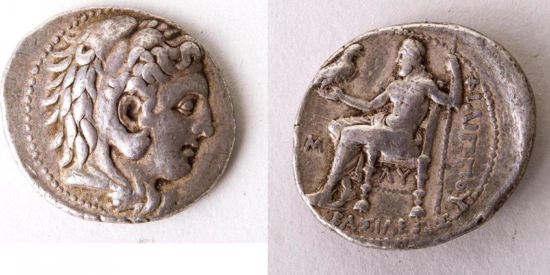 Ancient KINGS of MACEDON. Philip III. 323-317 BC. Coin
