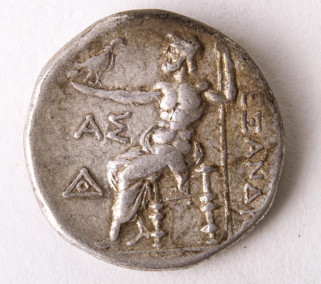 Ancient Alexander III. 336-323 BC. AR Tetradrachm Coin - 2