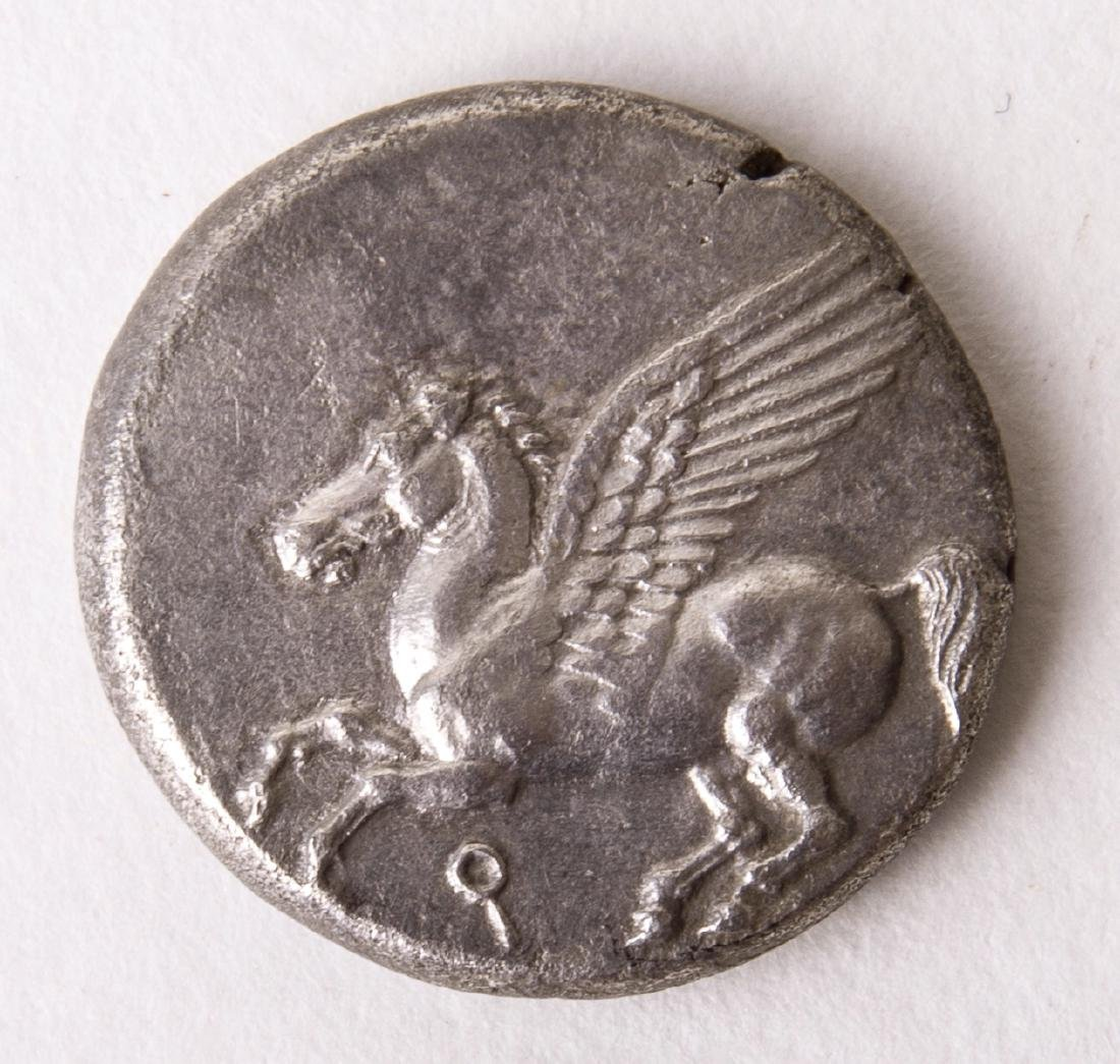 Ancient CORINTHIA, Corinth. Circa 345-307 BC. AR Stater - 2