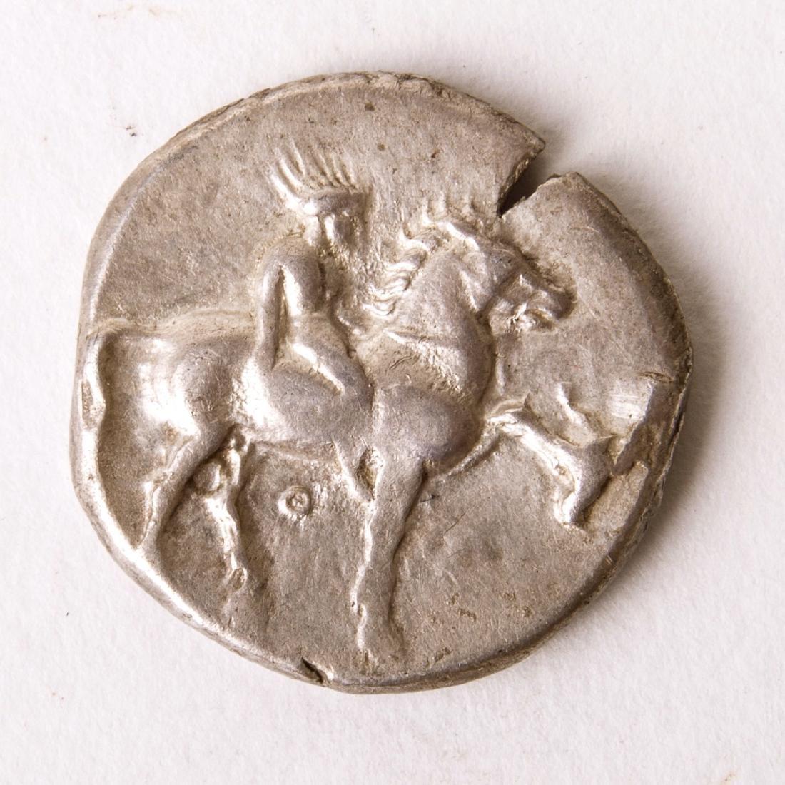 Ancient CALABRIA, Tarentum. Circa 365-355 BC. AR Nomos - 2