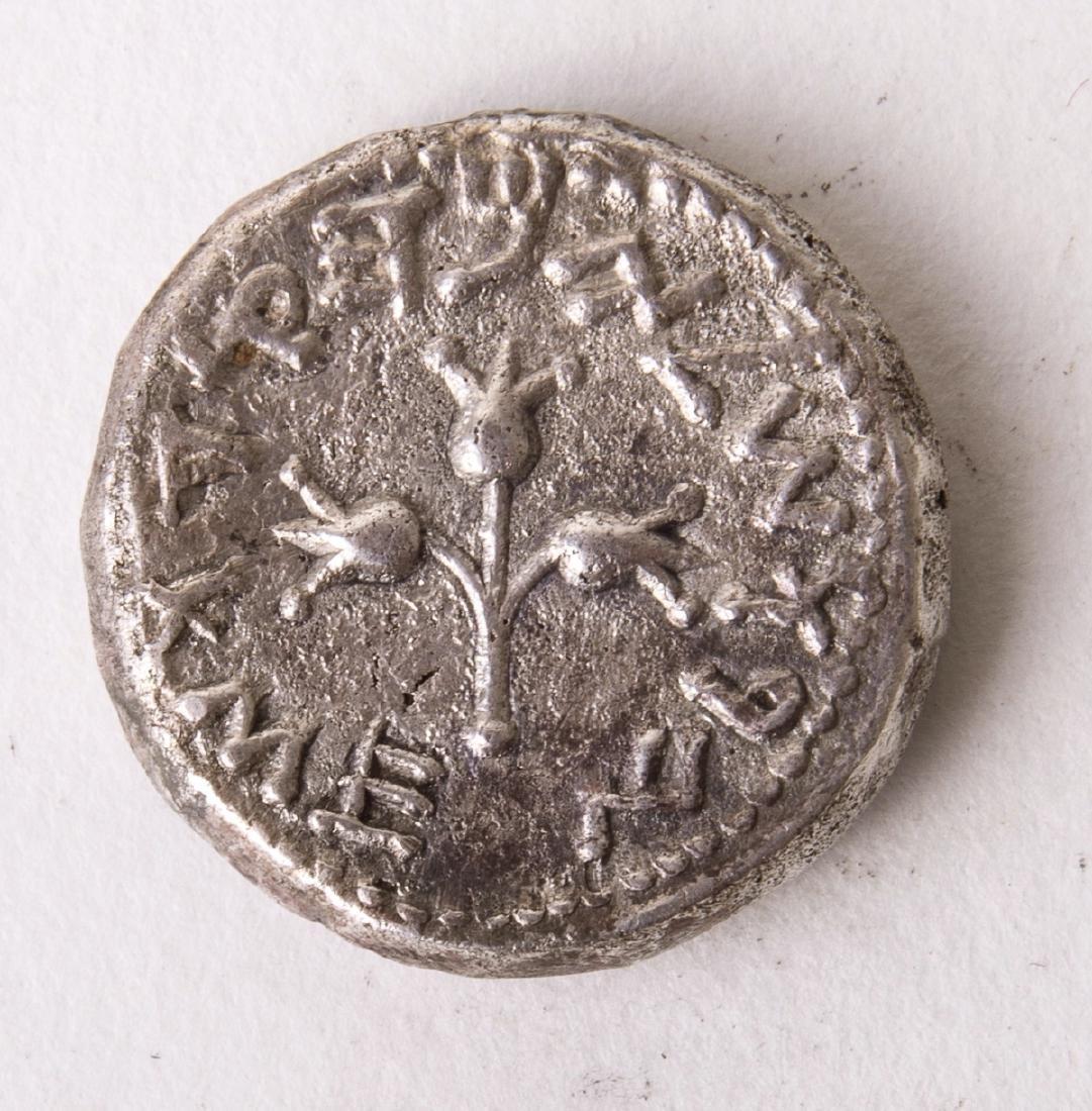 Ancient JUDAEA. First Jewish War, A.D. 66-70. AR Shekel - 2