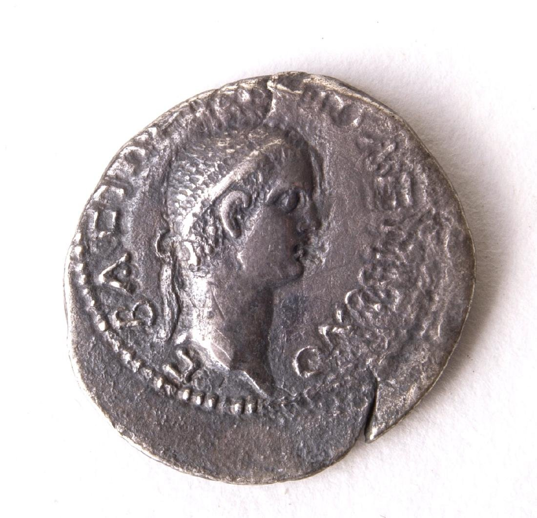 Ancient KINGS of PONTUS. Polemo II, with Claudius. AD 3 - 2