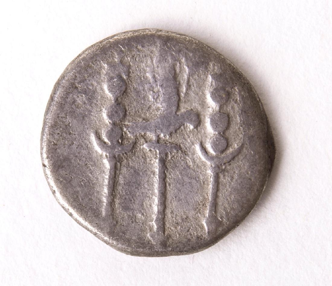 Ancient Roman Silver Denarius Nero. AD 54-68. - 2