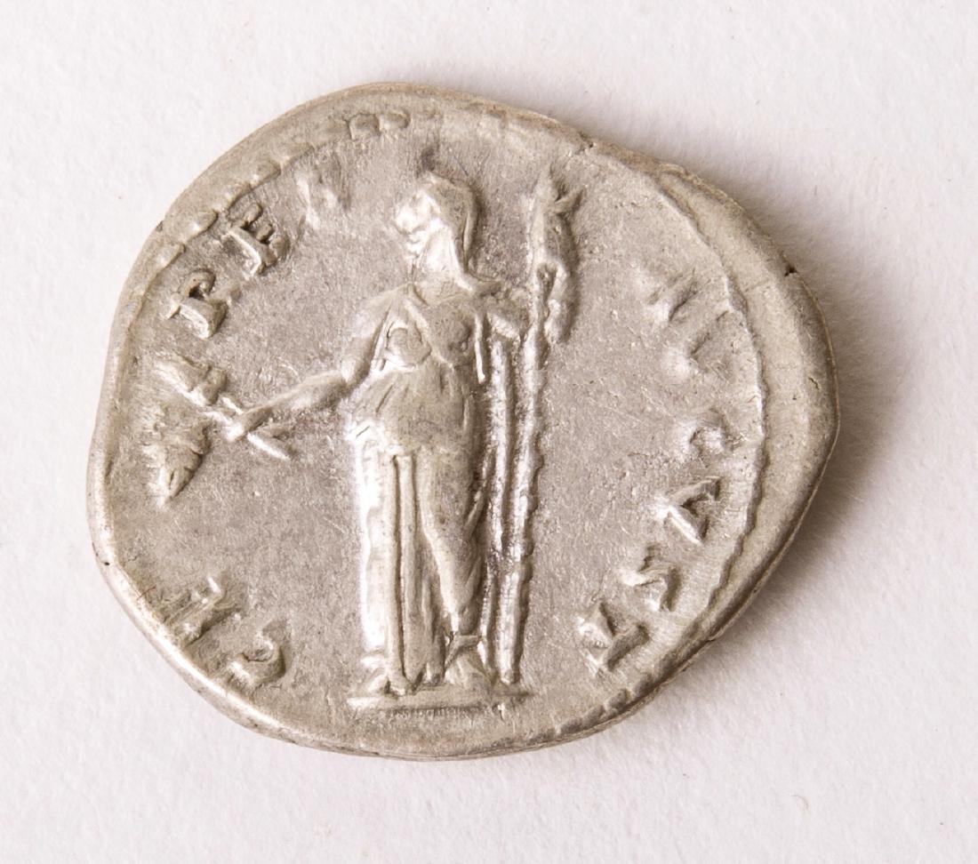 Ancient Roman Silver Denarius TITUS. 79-81 AD. AR Denar - 2