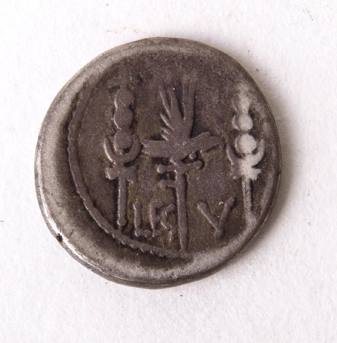 Ancient Mark Antony. Autumn 32-spring 31 BC AR Denarius - 2
