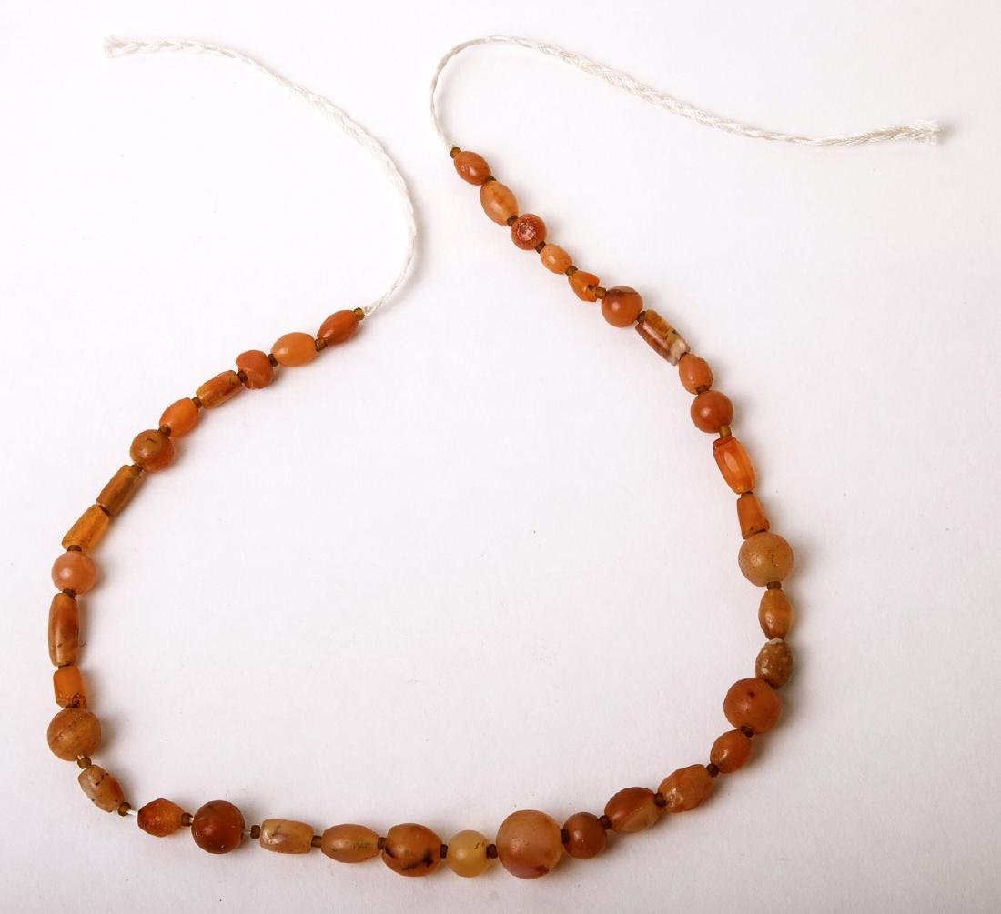 Ancient Roman Agate Beads Necklace c.2nd century AD. si