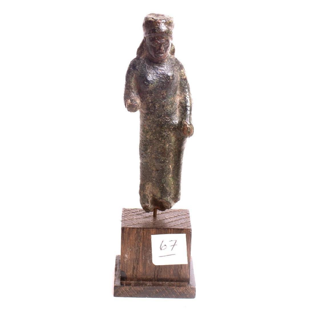 Ancient Greek Bronze Figure c.5th century BC.