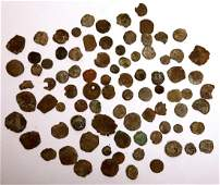 Lot of 80+ Ancient Judaean, Roman, Byzantine Coins