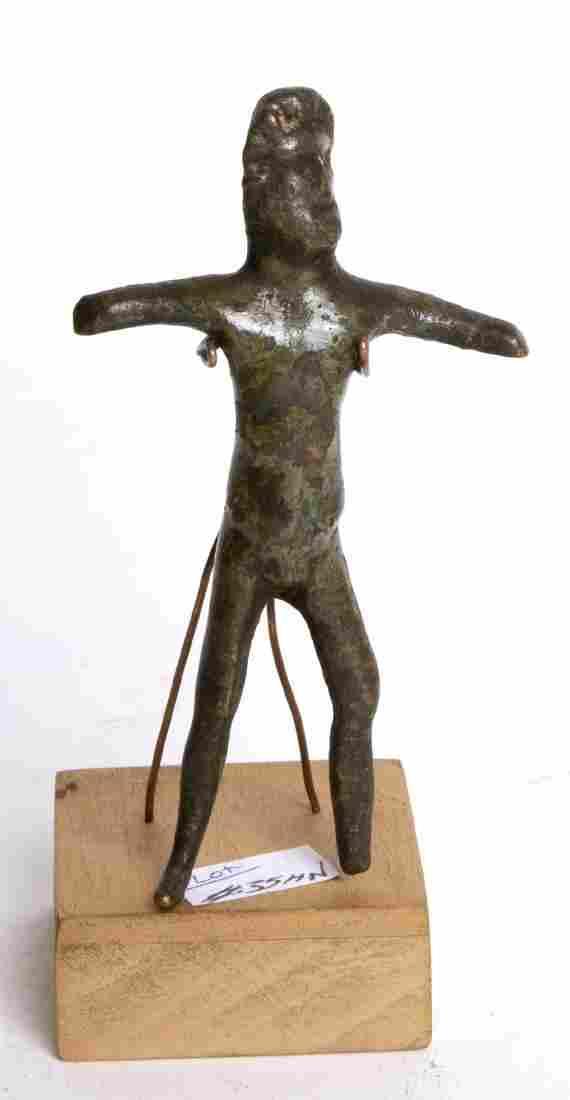 Ancient Roman Bronze Zeus Jupiter Ca 1st to 2nd Century