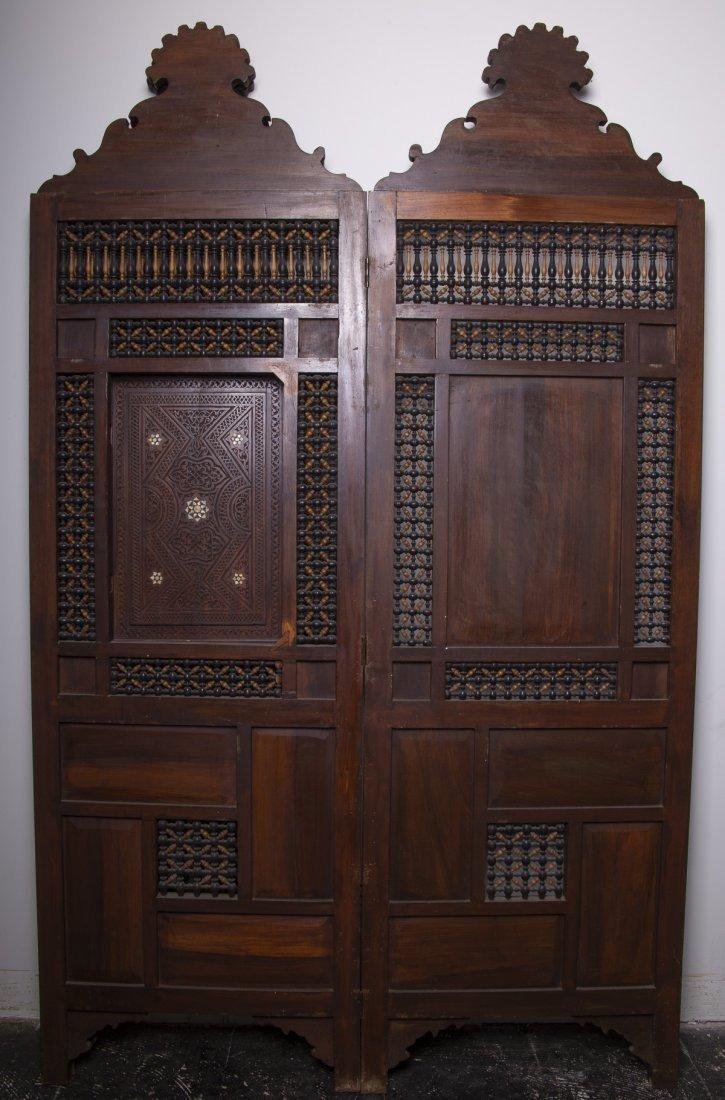 19th century Syrian Folding Screen Panel - 2