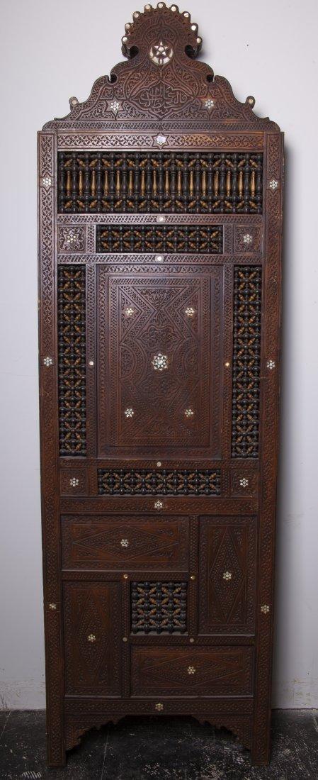 19th century Syrian Folding Screen Panel - 3