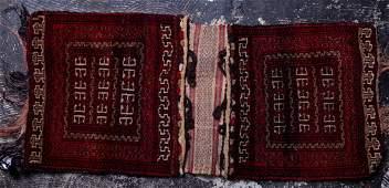 Antique Persian Qashqai saddle bag c.1900