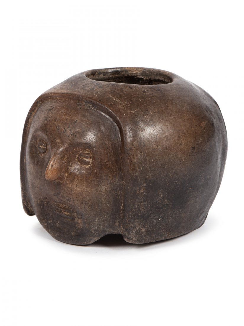 Ancient Pre Columbian Colima, Pottery Elder Shaman,