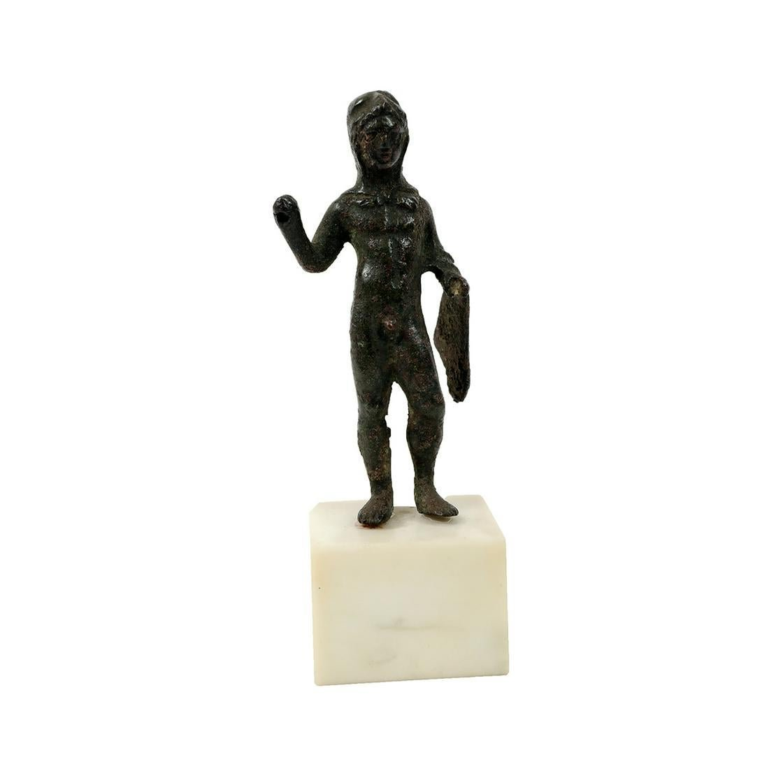 Ancient Roman Bronze figure Of Hercules c.1st-2nd