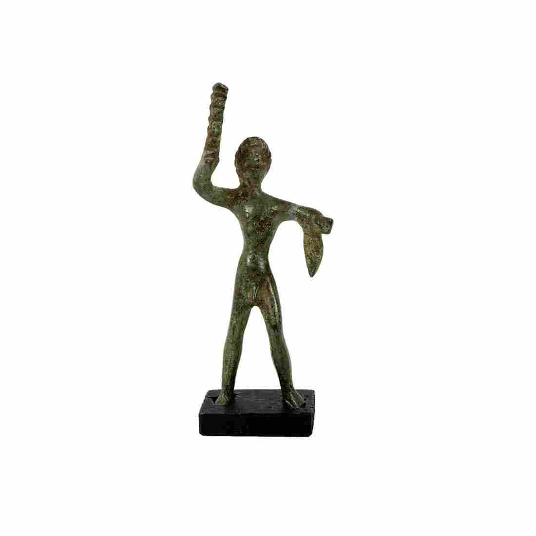 Ancient Roman Bronze figure Of Hercules c.1st-2nd