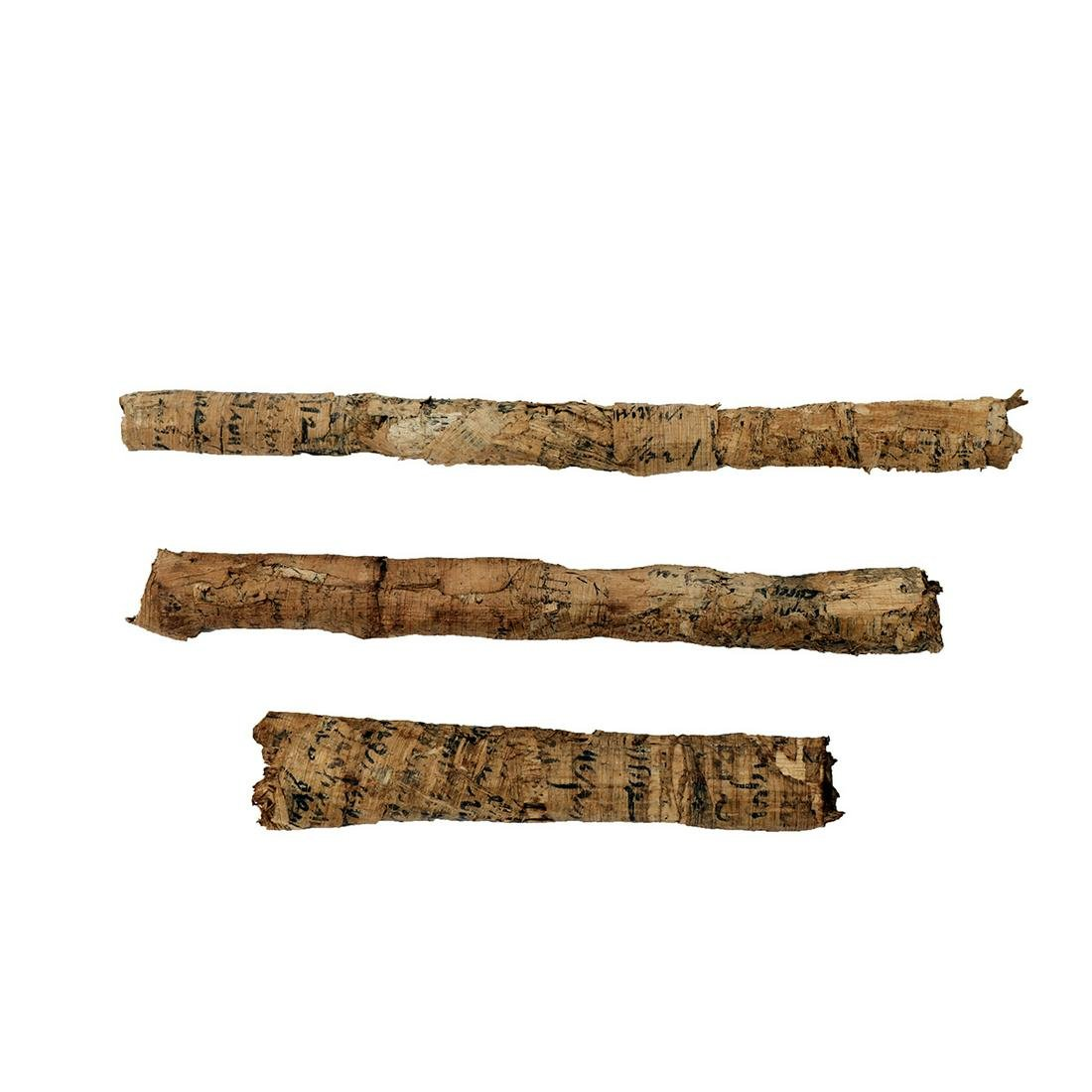 Ancient Egyptian papyrus scrolls Ptolemaic Period (3)