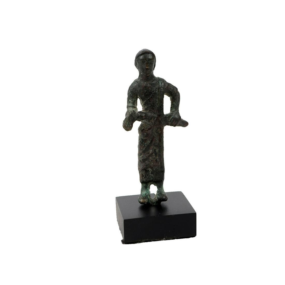 Ancient Roman bronze figure of a man c.1st-2nd century