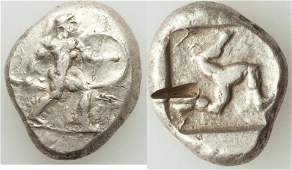 Ancient Greek PAMPHYLIA. Aspendus. Ca. mid-5th century