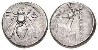 Ancient Greek IONIA, Ephesos. Circa 390-325 BC. coin