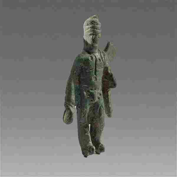 Ancient Roman Bronze figure of Mercury c.2nd-3rd cent