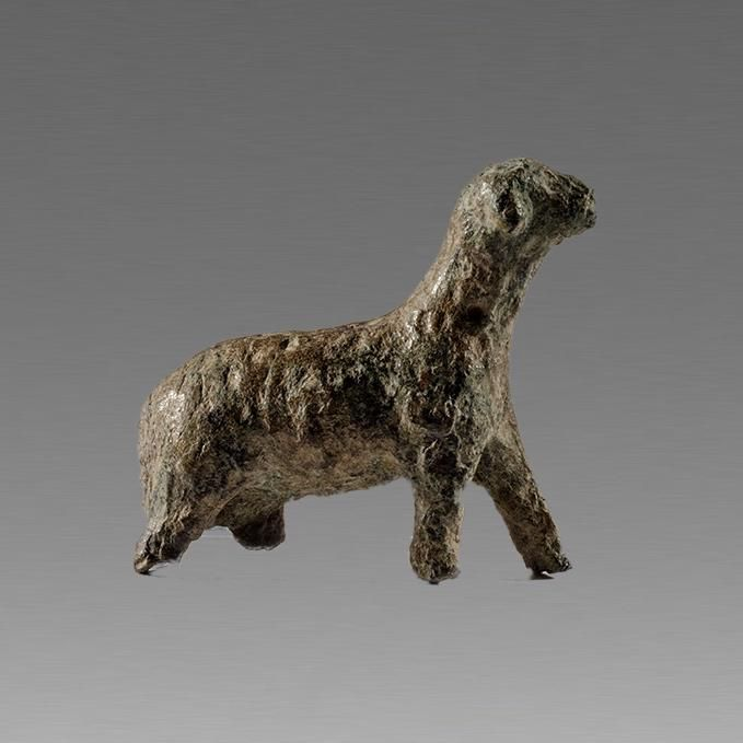 Ancient Roman Bronze Ram c.2nd cent AD.