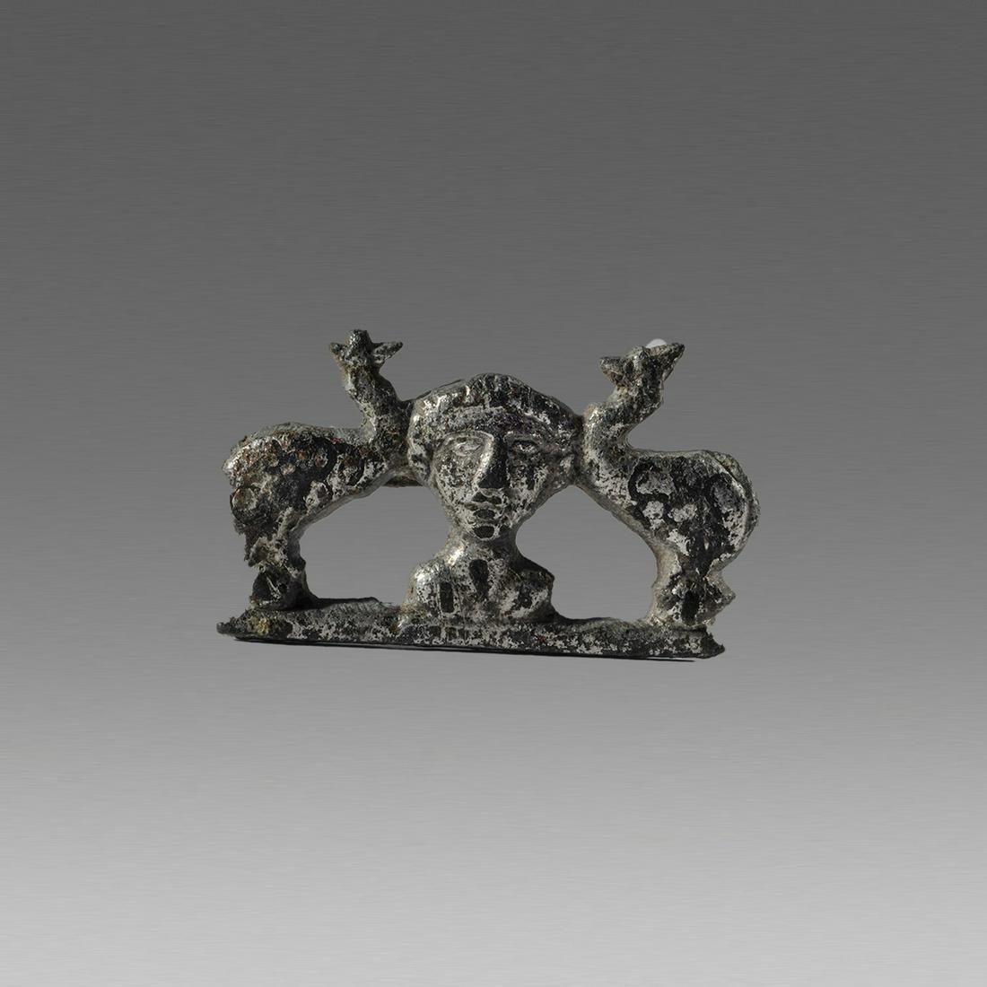 Ancient Roman Figural Brooch Fibula c.2nd cent AD.