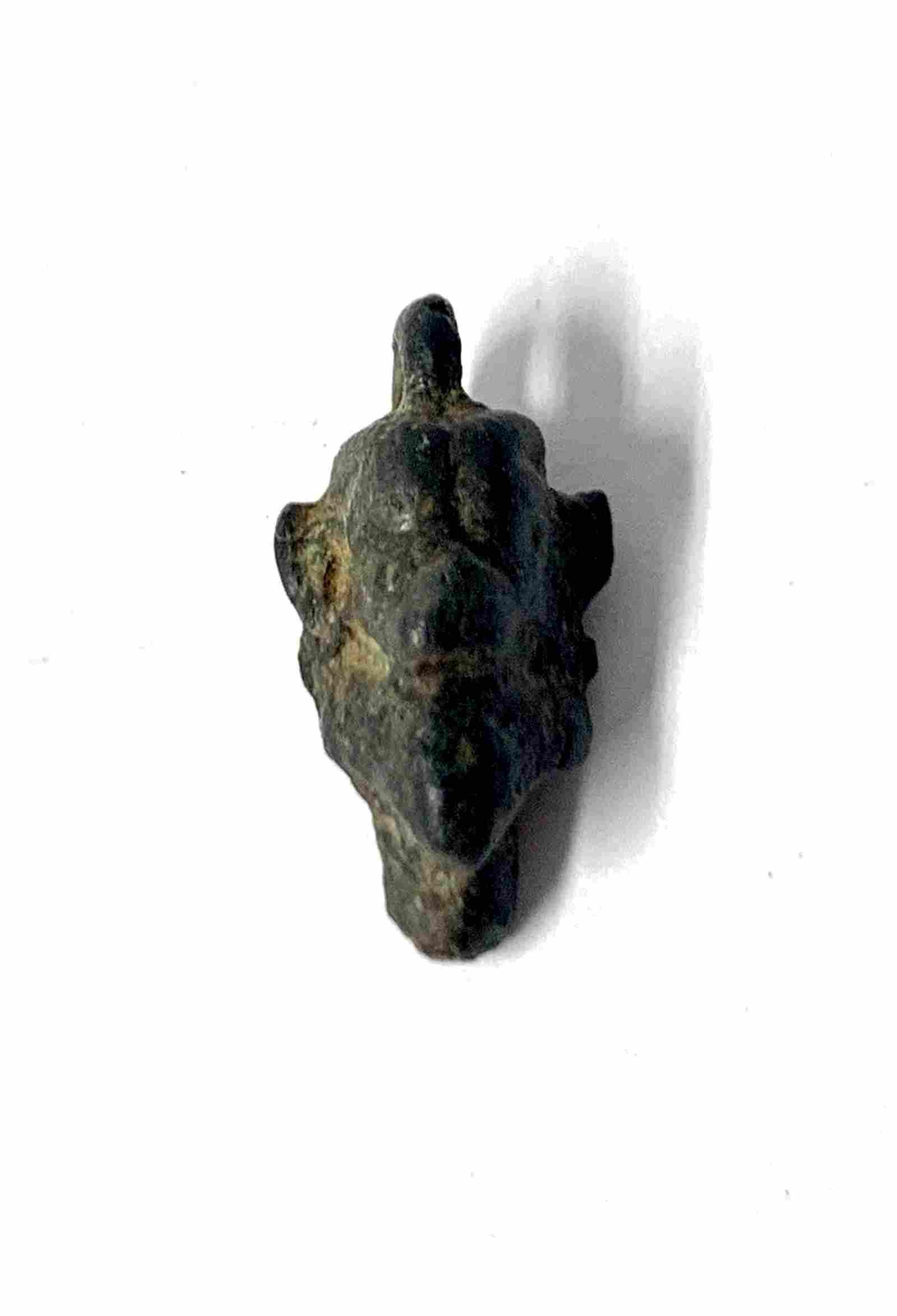 Ancient Messopotamian Bronze Head of Pazuzu c.2000 BC.